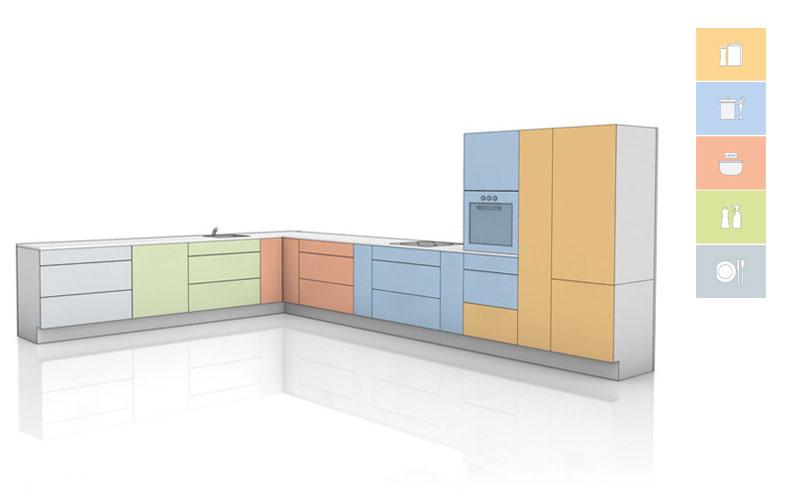 Layout de cozinha (formato L)