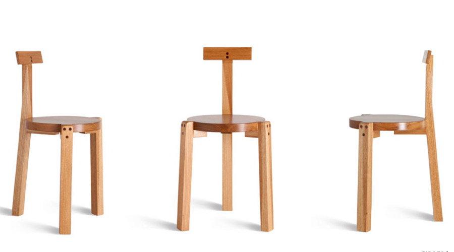 Cadeira Girafa uma das obras em mobiliário de Lina Bo Bardi