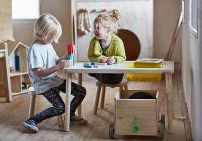 Projetando móveis para crianças