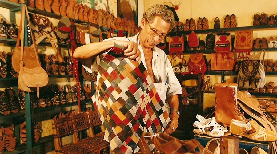O artesão Espedito Seleiro, de Nova Olinda (CE), participa do DW!