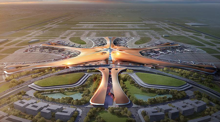 No momento da morte de Zaha Hadid, 36 projetos estavam em fase de desenvolvimento em 21 países, incluindo o novo Aeroporto de Pequim, na China