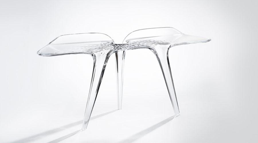 Linha Liquid Glacial de Zaha Hadid