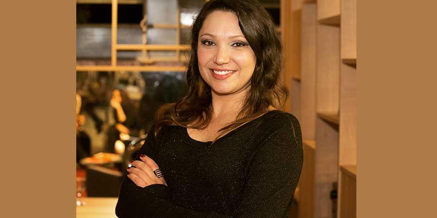Andrea Colin Correa, analista de novos produtos e gerente de marketing da Berneck