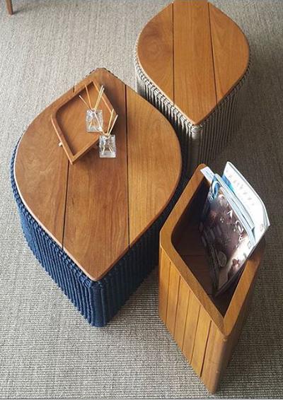 Série Lumiar com design da Lattoog Design para DonaFlor Mobília