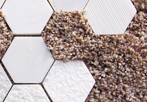 Novos materiais, soluções criativas e decors reforçam interesse no design sustentável e preferência por pisos e revestimentos com aspecto natural na Domotex