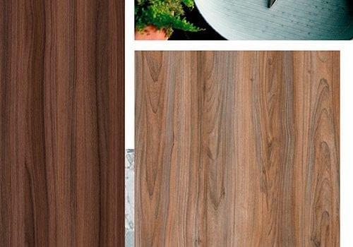 Nova tecnologia traz o aspecto natural da madeira em painéis revestidos com melamina. Decolay Real ganha destaque em meio às tendências e padrões de 2017