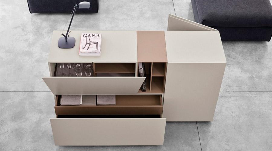 A coleção Brick, desenhada por Simone Cagnazzo para Caccaro, foca minimalismo e funcionalidade