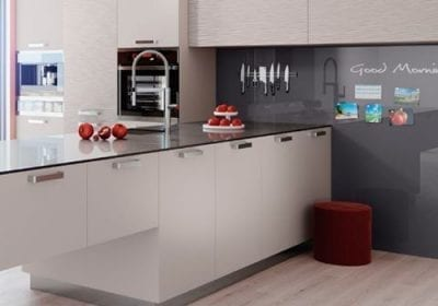 RAUVISIO promete inovação em design de interiores e móveis. Superfícies trazem acabamentos diferenciados nas versões brilhante, cristal, radiant e sky