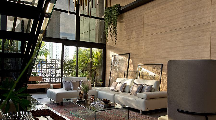 O Loft Hanami tem a proposta de ser um ambiente aconchegante e agradável, abraçado pela vegetação na Casa Cor