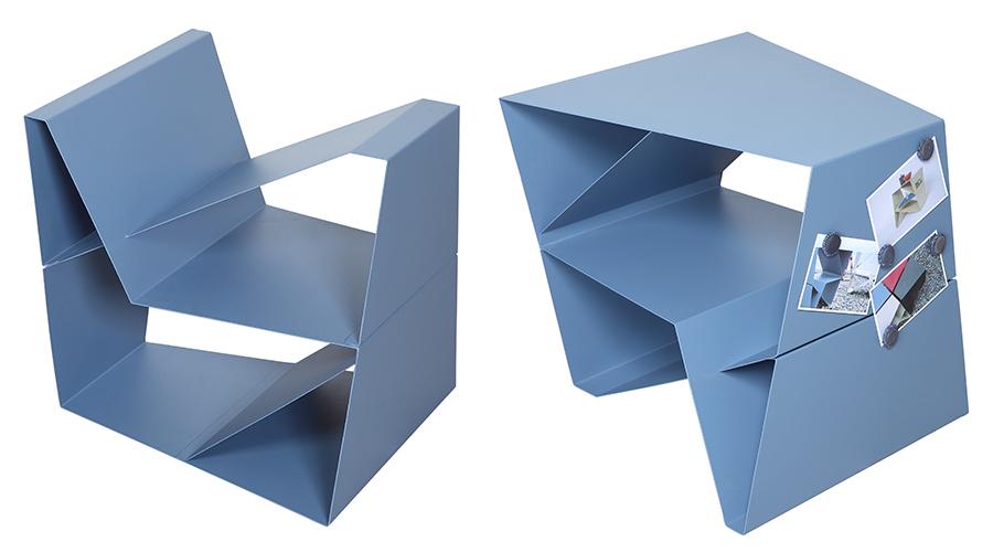 Planar – desenho de Carolina Rocha e Lúcia Correa. Projeto venceu o Prêmio Salão Design 2017
