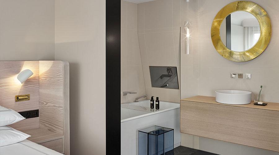 A rede suíça de hotéis e resorts Swissôtel acredita nessa conexão entre saúde, design e bem-estar para propiciar hospitalidade