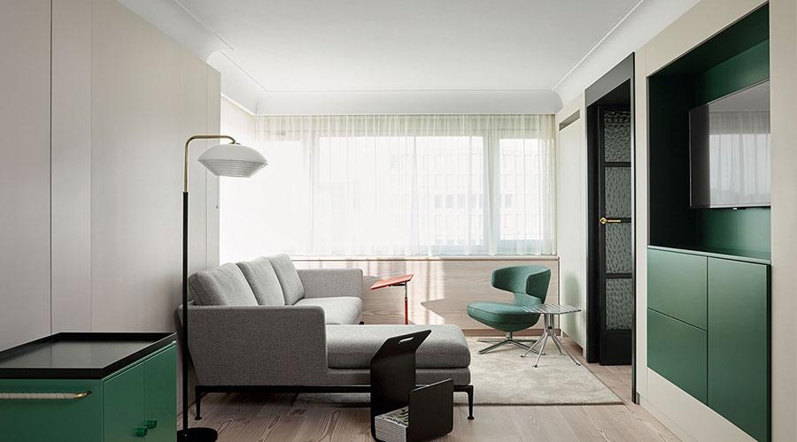 A ideia de hospitalidade passa por conceitos de sustentabilidade, luxo, artesanato, mobiliário e a funcionalidade no design