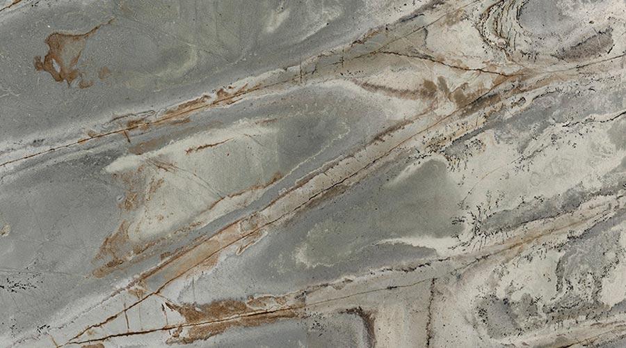Os desenhos reproduzindo pedras, Barcelona e Wasabi, são destaques da coleção Digital Visions da Schattdecor na Sicam