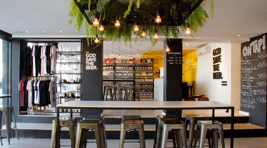 God Save the Beer, projeto assinado por Juliana Medeiros, especialista em arquitetura emocional