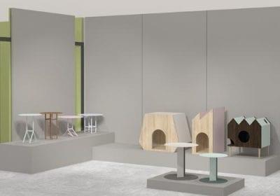 Designer Leo Di Caprio utiliza acabamentos da Sayerlack em suas recentes coleções: Aka, Casas para Pets e Aurora. Peças foram expostas na Made 2017