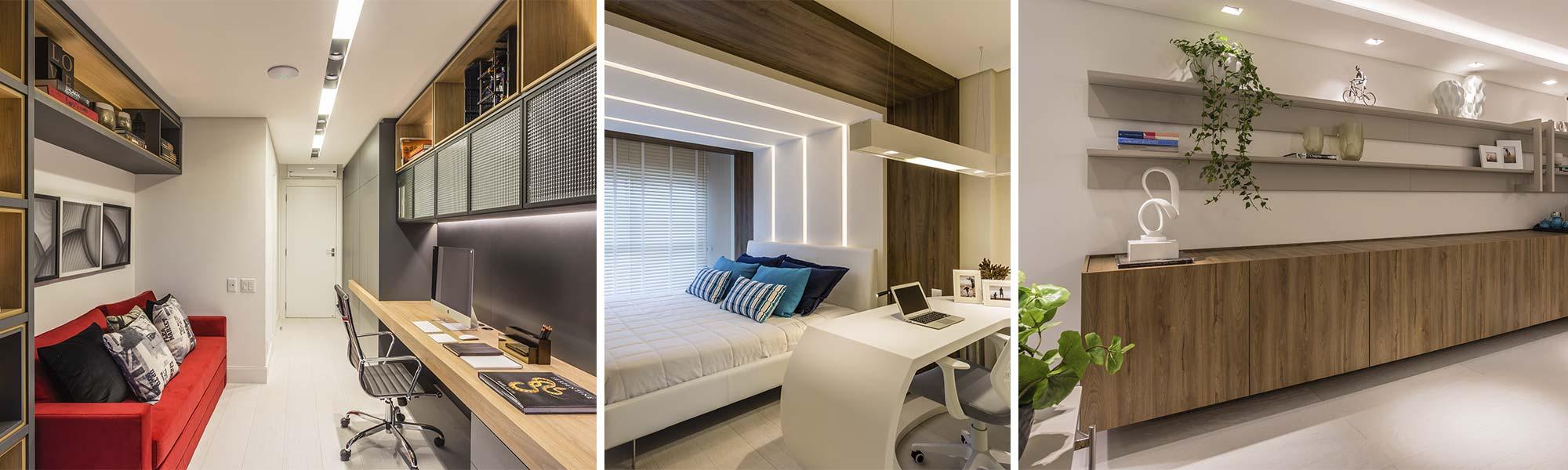 Mariana Pesca assina a arquitetura do apartamento WOA, com paleta de cores e móveis da marca Bontempo