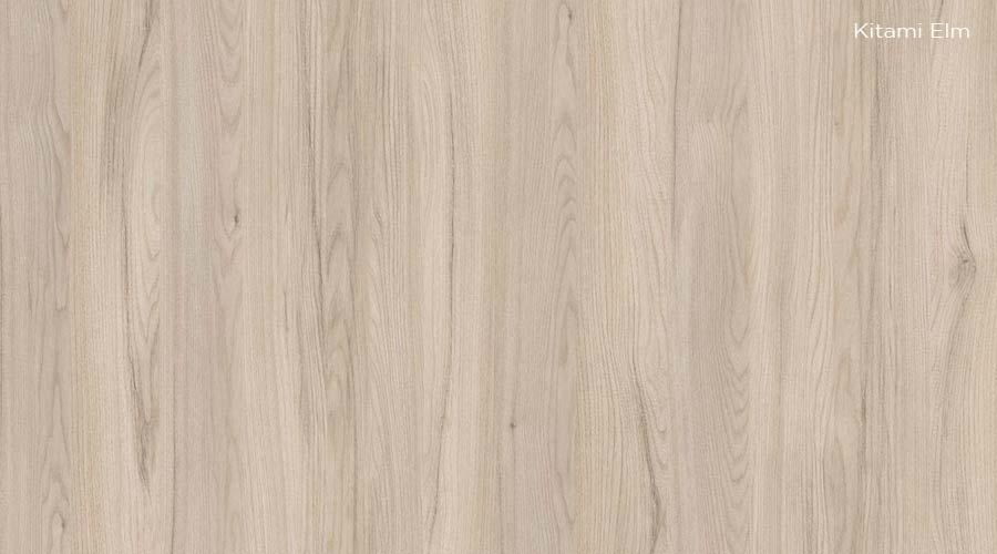 Uso de grafismos e madeiras suaves são indicados na tendência Micro Housing. Decor Kitami Elm é opção da Schattdecor
