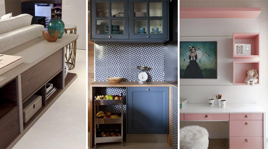 Projeto de interiores e móveis da marca Bontempo, sob autoria da arquiteta Juliana Pippi
