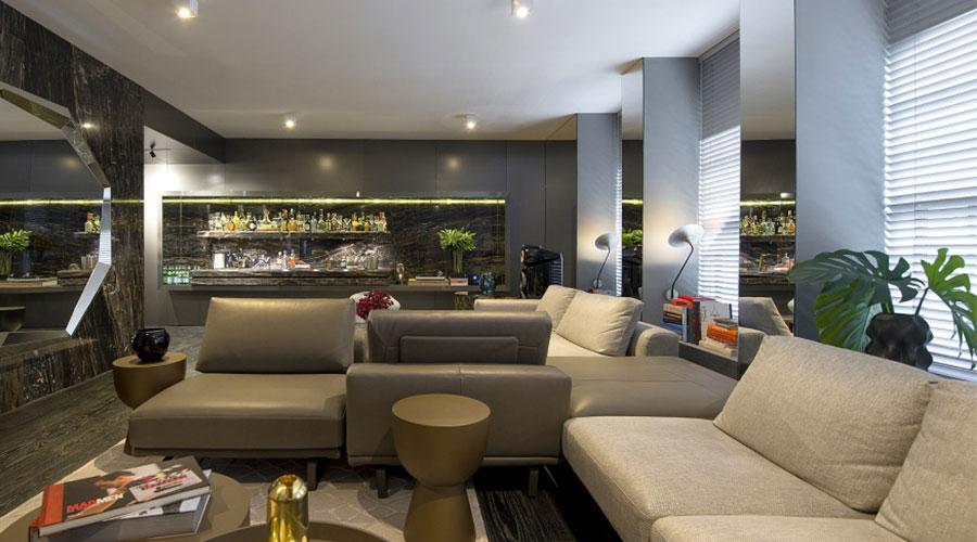 Cores metalizadas ganham espaço na decoração e nos projetos de marcenaria e arquitetura