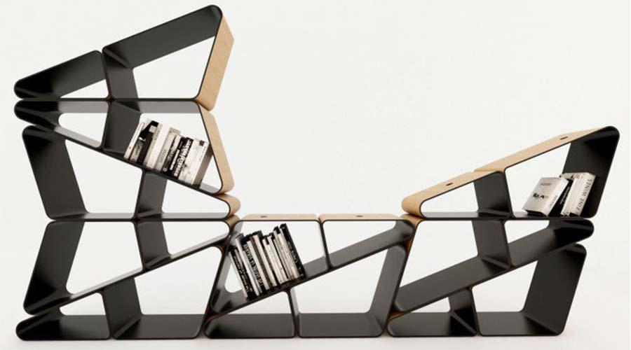 Platinum A' Design Award para a Estante de Ângulo (Angle), de Selami Gunduzeri