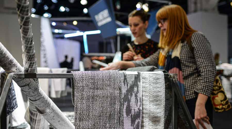 Os produtos têxteis ganham destaque na feira Heimtextil, que aborda o futuro urbano como tema central