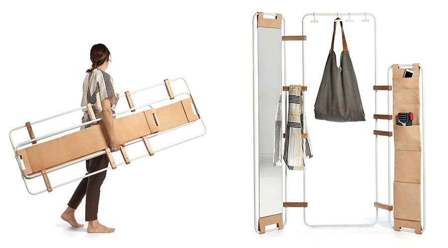 Lynko by Natalia Geci sistema modular nômade vencedor na categoria mobiliário e itens decorativos do A' Design Award