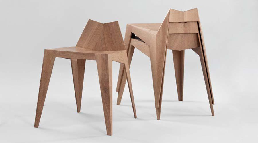 Platinum A' Design Award para a Cadeira Stocker, de Matthia Scherzinger