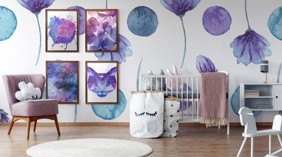 Para os menos ousados, uma dica é suavizar o Ultra Violet com tons da mesma família de cores