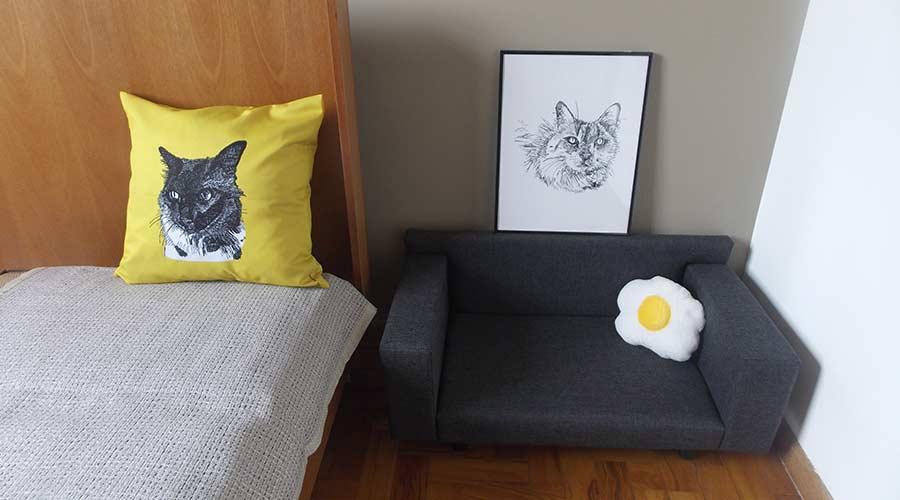 Beijo de Focinho, da designer Silvia Grilli traz coleção de móveis para pets