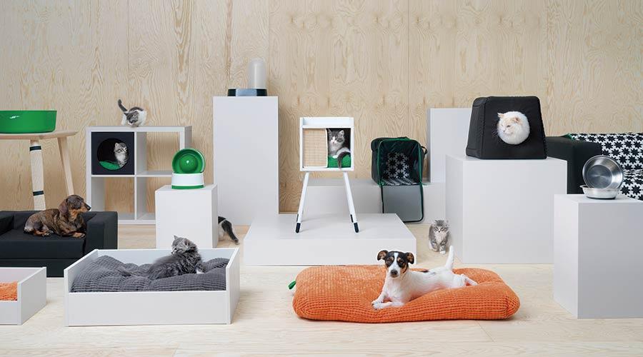 Alguns dos móveis lançados pela IKEA são peças icônicas já apresentadas pela marca, agora transformadas para o mercado PET
