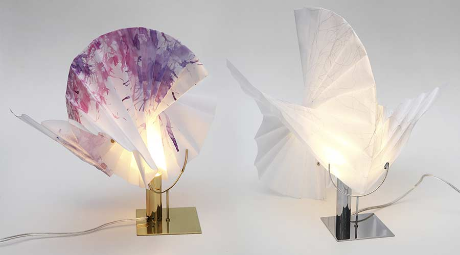 Luminária F.LY, de Andrea Macruz, Nolii no Prêmio Salão Design 2018