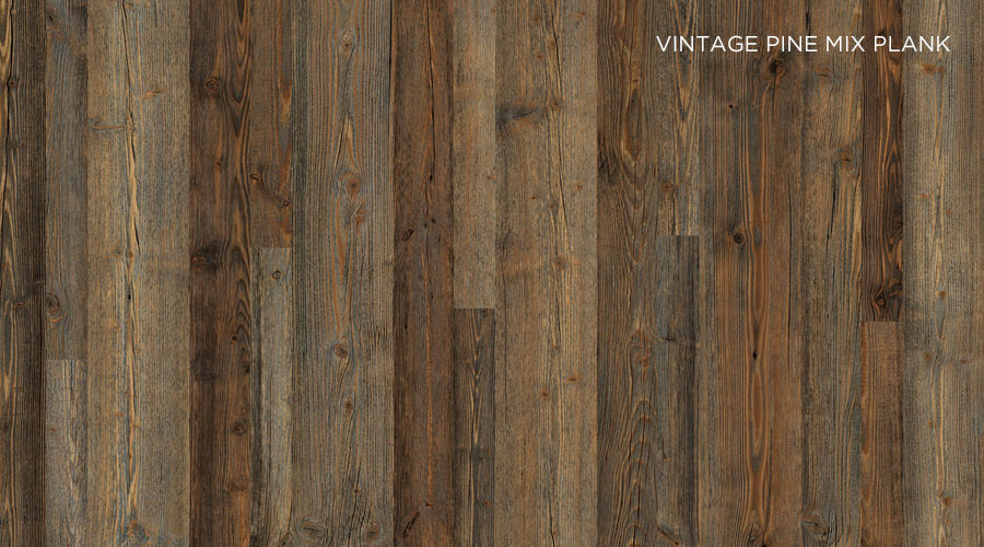 Vintage Pine Mix Plank, da Schattdecor