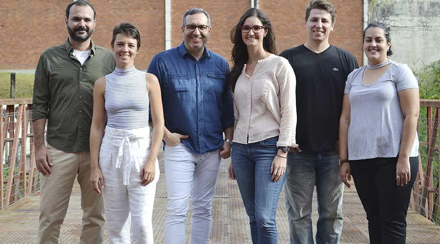 Júri do Prêmio Salão Design: Brunno Jahara, Bruno Faucz, Letícia Grisa, Nicole Tomazi, Salvatore Figliuzzi e Juliana Sabino