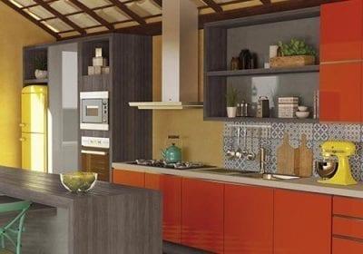 Ritmos: Colorido generoso nos móveis e interiores