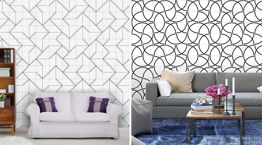 A Lurca Azulejos foi uma das marcas que apostou nos desenhos geométricos, com peças inspiradas na cultura do Japão