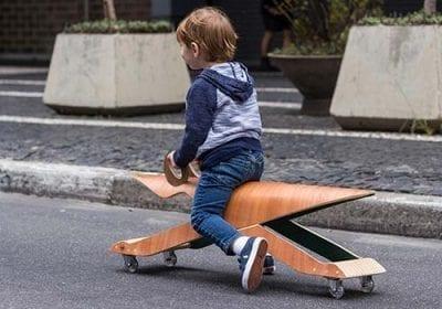 O design dos móveis e acessórios infantis da Noos trazem aspectos lúdicos, multifuncionalidade e ergonomia