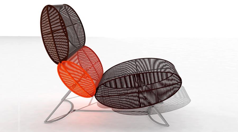 Na Semana de Design de Milão, a mostra Brazil S/A valoriza o sucesso obtido nas edições anteriores. Na foto, Poltrona Morototó, de Sérgio J Matos