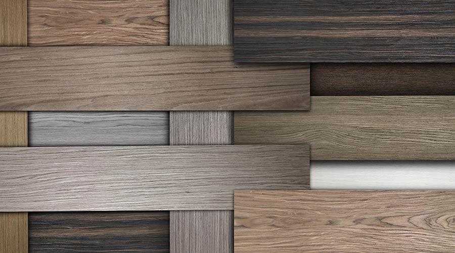 A variedade de padrões atende aos mais diversos tipos de móveis e ambientes. A Sayerlack, por exemplo, oferece padrões de rádicas, madeiras linheiras ou com catedrais evidentes