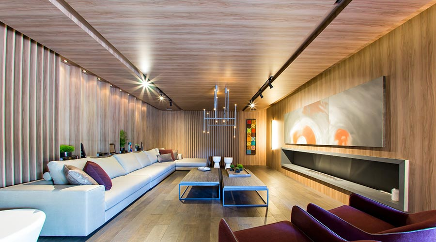 Além da tradicional utilização em móveis e paredes de home theater, os painéis de MDF estão ganhando novas aplicações
