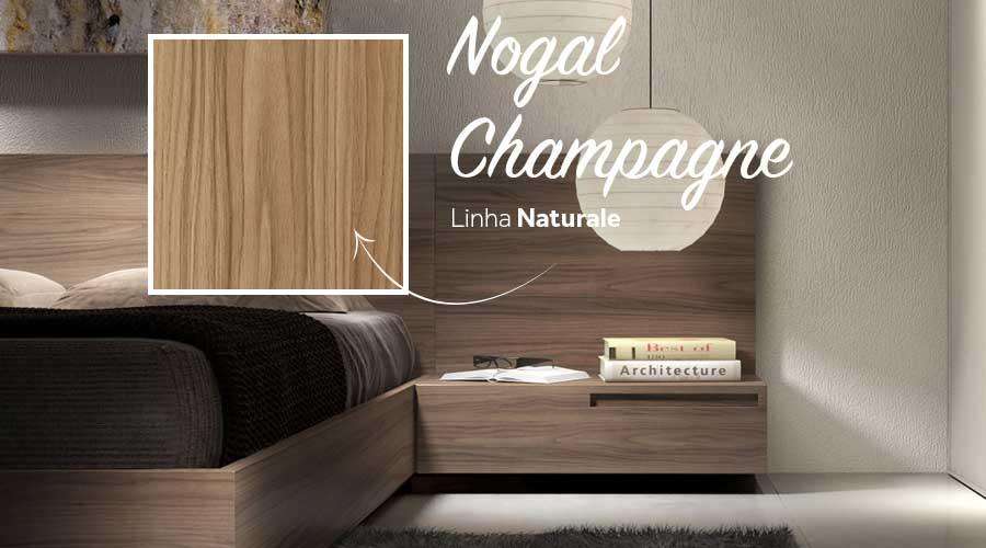 A Linha Naturale conta ainda com outros 15 padrões, que reproduzem o desenho de diferentes madeiras, como o Nogal Champagne