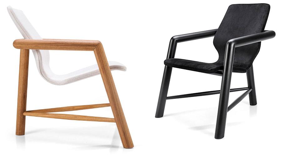 Poltrona Bold, de Vinicius Siega, é uma das peças indicadas ao Prêmio Design do Museu da Casa Brasileira