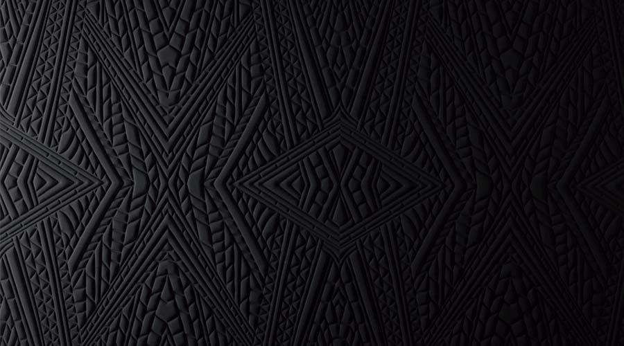 Um dos revestimentos de couro da Moooi, por exemplo, é baseado na pele do rinoceronte anão