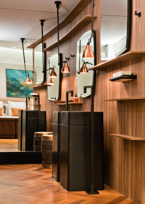 Os banheiros e salas de banho estão mudando. Prova disso é a quantidade de novas propostas em layouts e decorações para a área