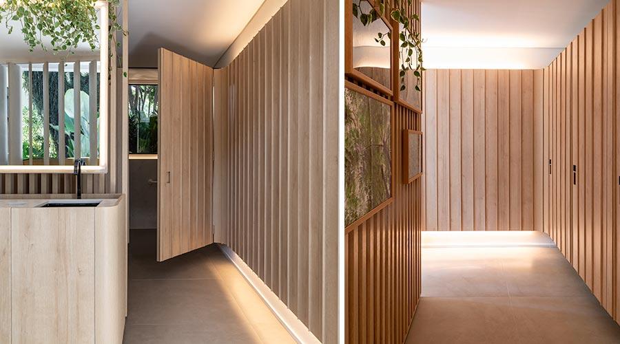 Recinto do Bosque, de Gabriel de Lucca, aposta no padrão Riviera para combinar a atmosfera clean do estilo escandinavo com traços minimalistas