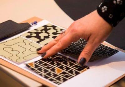 Renata Rubim assina novas coleções de tecidos, tampos de mesa, biombos e papéis de parede para a Versado Surfaces e SM Concept