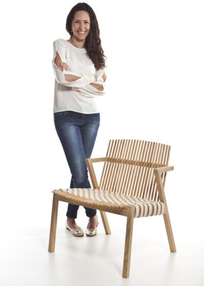 Rahyja Afrange: Tenho um respeito muito grande pelos materiais e gosto de ressaltar a beleza que eles têm